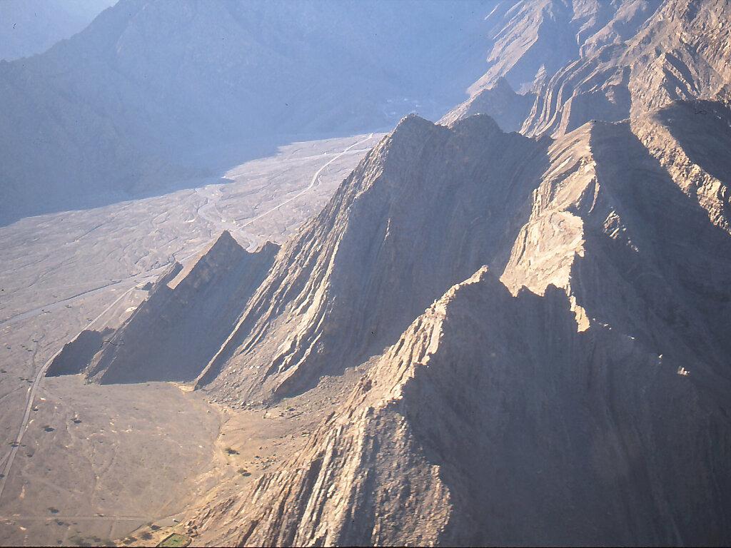 Anflug nach Khasab / Approach to Khasab