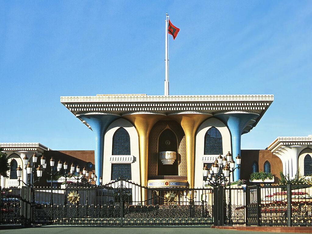 Al Alam Sultanspalast / Al Alam Sultan's Palace