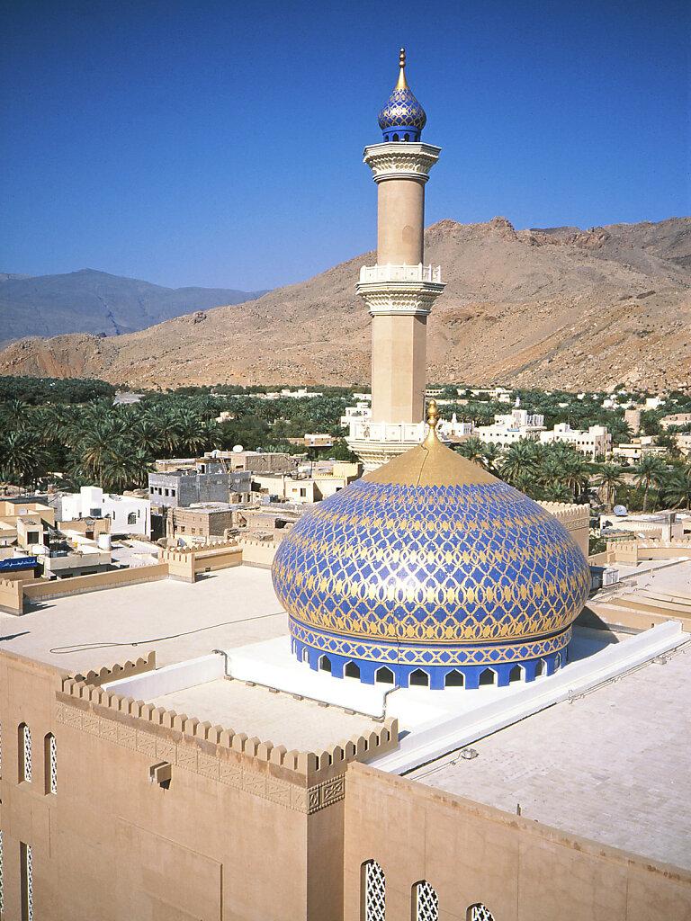 Moschee in Nizwa / Mosque in Nizwa