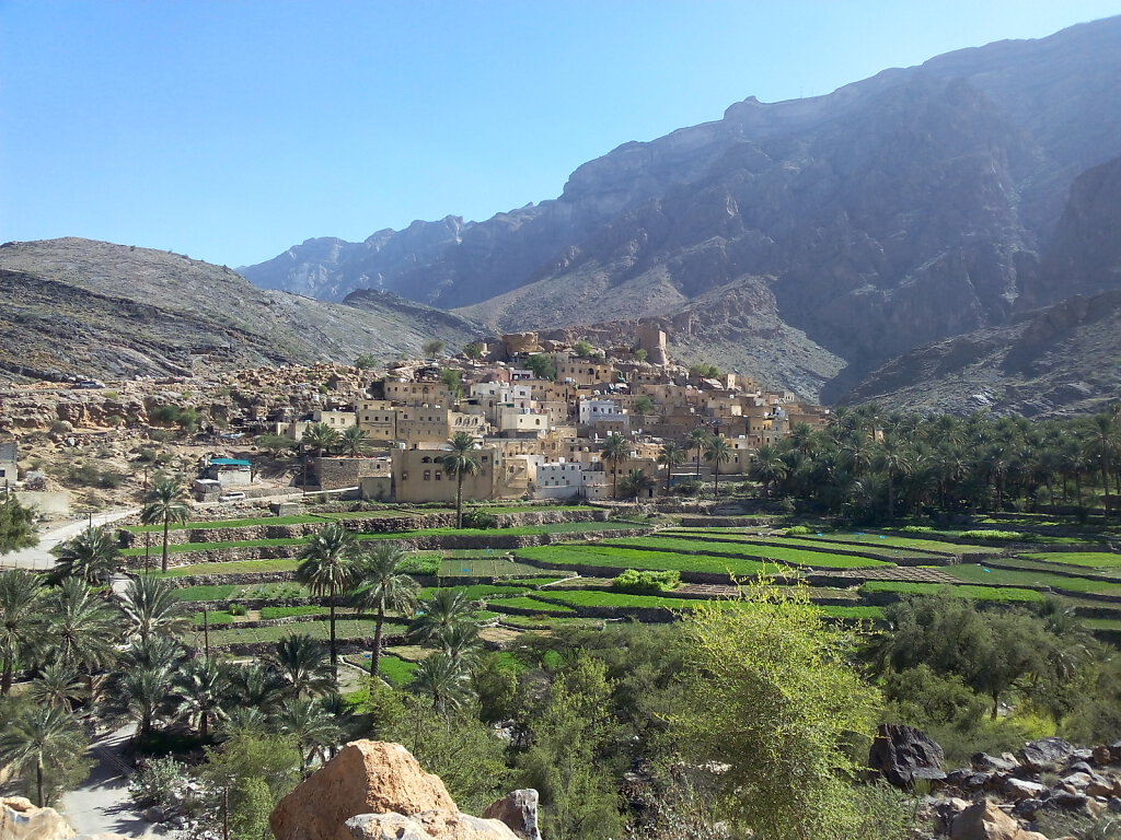 Djabal Akhdar Dorf / Jebel Akhdar village