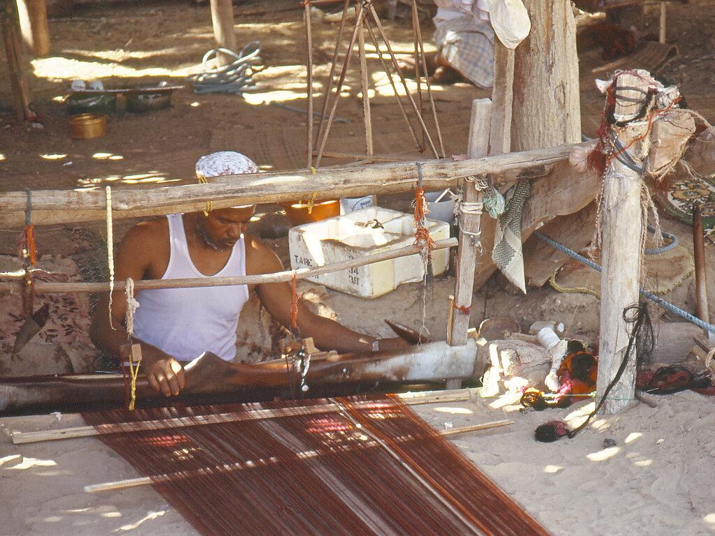 Seidenweberei Balad Sur / Silk Weaving Bilad Sur