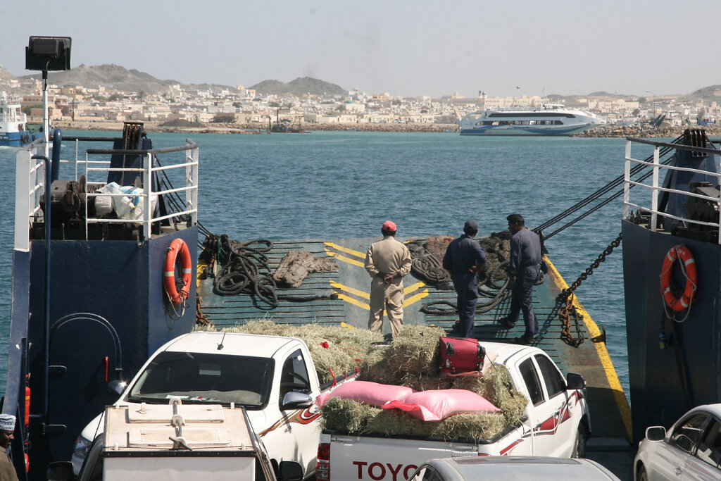 Fähre Masirah / Ferry Masirah