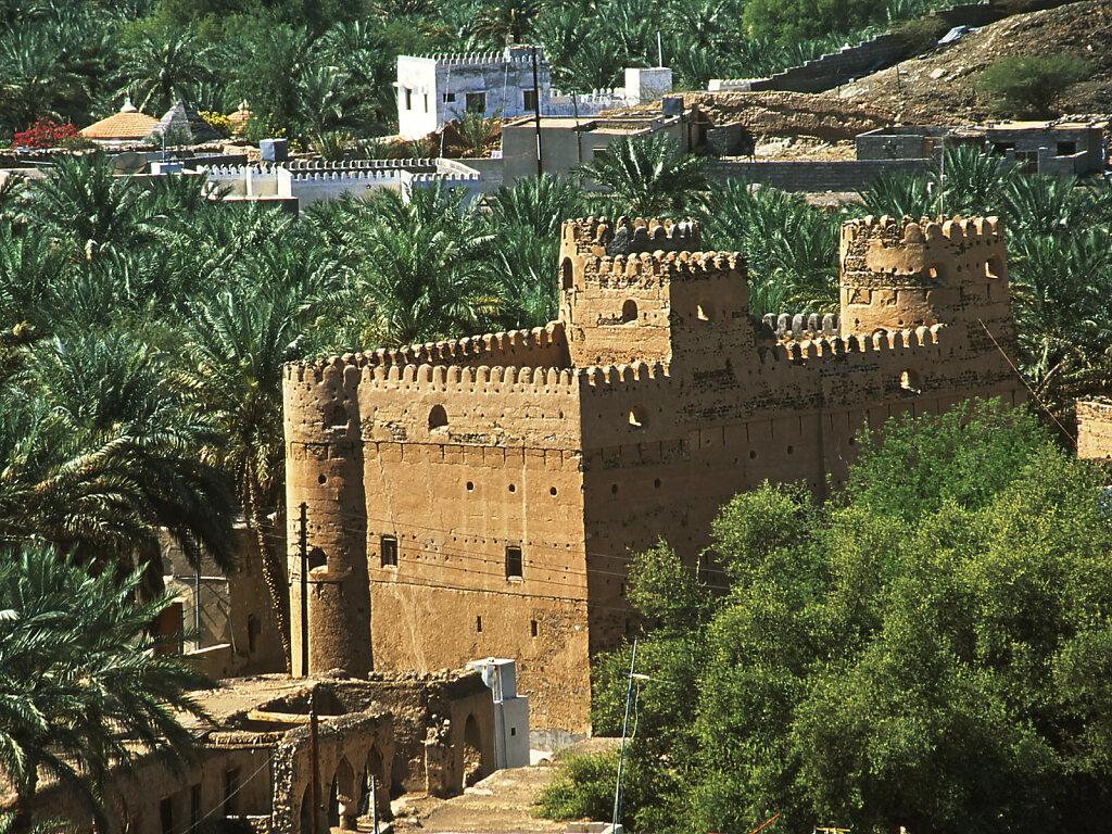 Alte Wohnfestung in Al Mudayrib / Old Residential Fort in Al Mudayrib