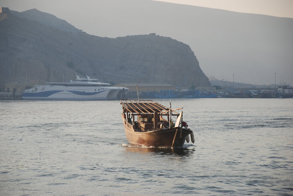 Khasab Hafen / Khasab Harbour