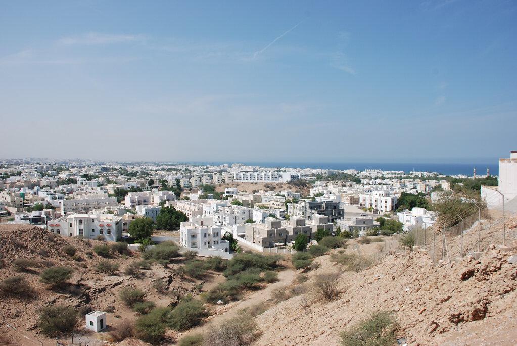 Blick auf Maskat / View on Muscat