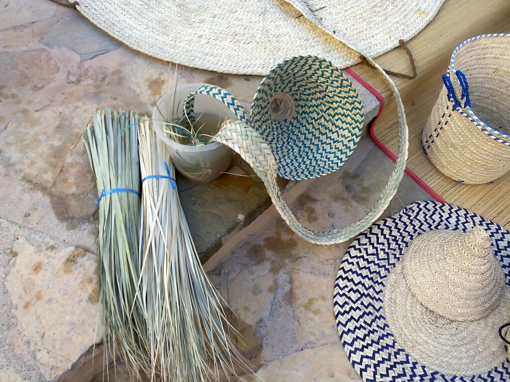 Korbflechtung / Basket Weaver