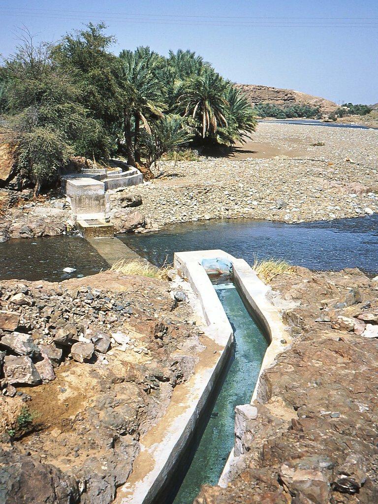Syphon Wadi Al Djizzi / Wadi Al Jizzi