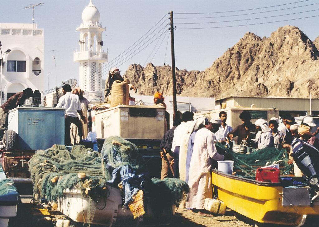 Fischer in Matrah / Fishermen n Muttrah 1992