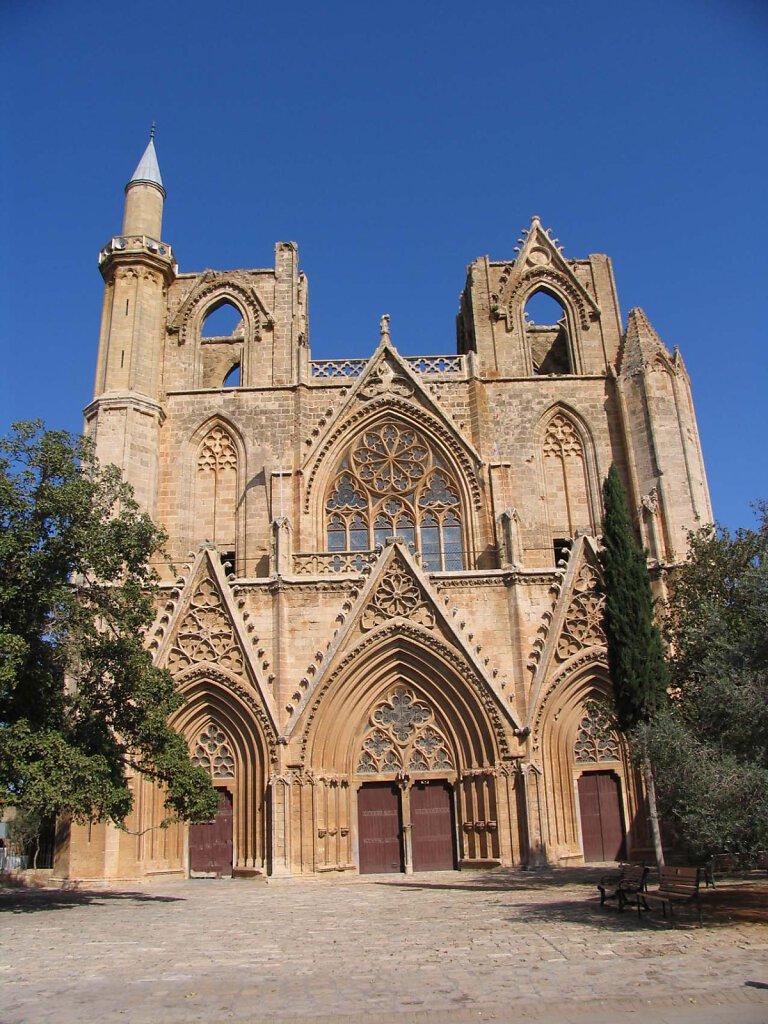 Lala Mustafa Pasha Moschee, St. Nikolaus Kathedrale / Lala Mustafa Pasha Mosque, St. Nicolas Cathedral